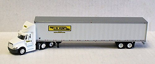 JB HUNT INTERNATIONAL PROSTAR DAY CAB TRAILER TONKIN 1/87 Diecast Truck HO Scale (Tonkin Trailers compare prices)