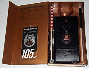 HARLEY DAVIDSON 105th Anniversary Boxed Set Copper Bracelet Coin Leather Wallet - College Bracelets