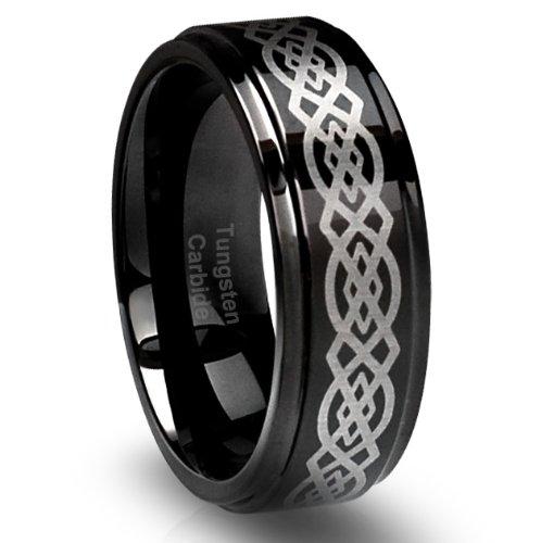 Tungsten Wedding Bands Celtic 68 Trend MM Men us Tungsten