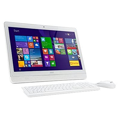 Acer Aspire All-in-One Desktop [Core i3 4th Gen/ 4GB/ 1 TB/ Win10 / 19.5″/ Wireless K/B & Optical Mouse/ White...