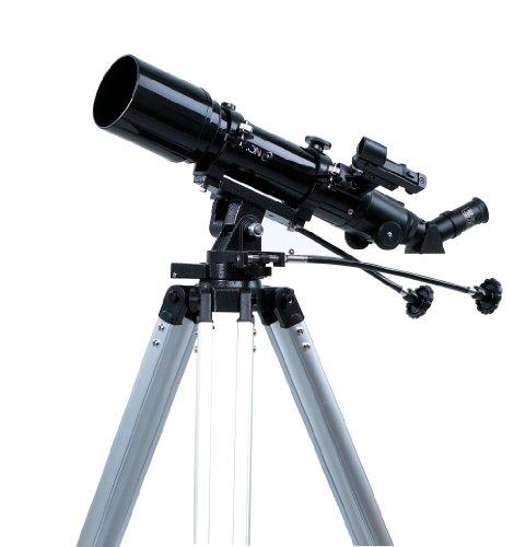 Rokinon 705AZ3 Compact 500 x 70mm Refractor Telescope with Tripod (Black)