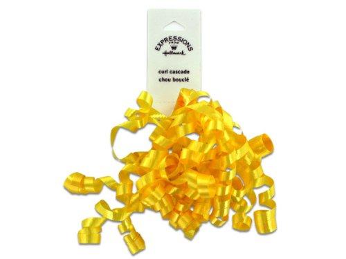 Yellow Mini Curl Ribbon Case Pack 36