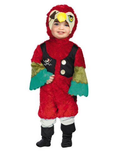 Baby-Toddler-Costume Parrot Pirate Toddler Costume 2T Halloween Costume