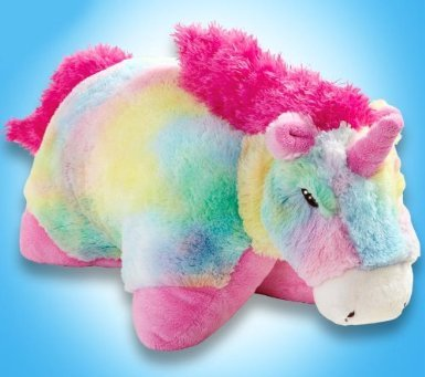 "My Pillow Pets Large 18"" Rainbow Unicorn"