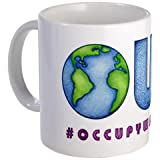 Hashtag Occupy Wall Street Global OWS WE ARE THE 99% Ceramic Coffee Cup Mug
