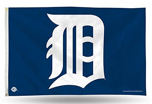Rico Banner Flag - Detroit Tigers D Logo