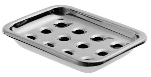 Steeltek Basic Rectangular Stainless-Steel Soap Dish