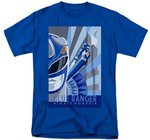 Mighty Morphin: Power Rangers - Blue Ranger Deco T-Shirt