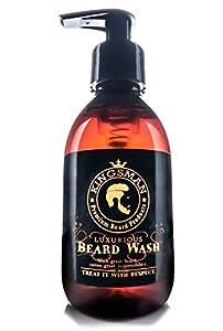 Kingsman Luxurious Beard Wash, beard wash, beard shampoo, promotes healthy growth, XL 200ml