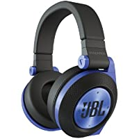 JBL Synchros E50BT Over-Ear Wireless Bluetooth Headphones (Blue) - Recertified