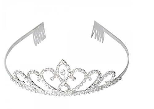 A tiara from amazon.com. This is great for Audrey Hepburn Halloween costume ideas
