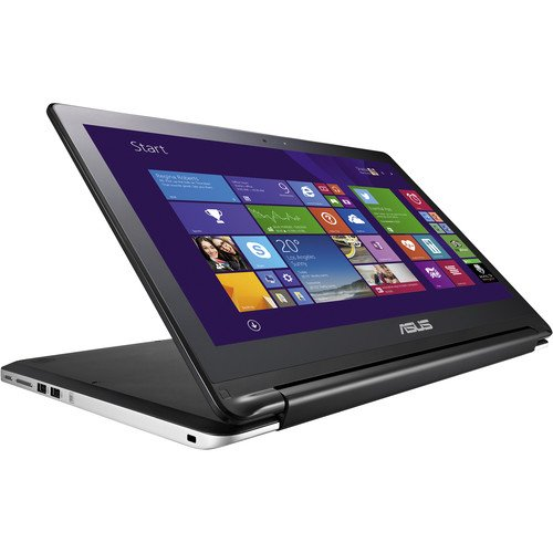 360度可動 エイスース ASUS ノートパソコン Laptop フリップ Flip 15.6-Inch タッチスクリーン touchscreen TP500LA-DH71T【Intel Core i7-4510U 2GHz (Turbo to 3.1Ghz)/1TB HDD/8GB RAM/Windows8.1】米国版 US version Keyboard OS 【並行輸入品】