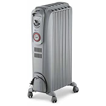 The DeLonghi TRD0715T Safeheat 1500W Portable Oil-Filled Radiator features vertical thermal tunnels engineered to maximize radiant flow while maintaining a low surface temperature. The unit is permanently sealed with pure diathermic oil for stable an...