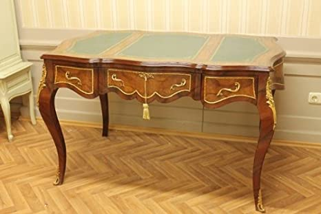 Barroco escritorio mesa Bureau plat 145mosr1314skgn