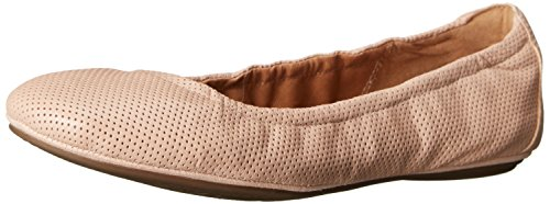 Clarks Women's Grayson Erica Ballet Flat, Nude Perfed Leather, 7 M US