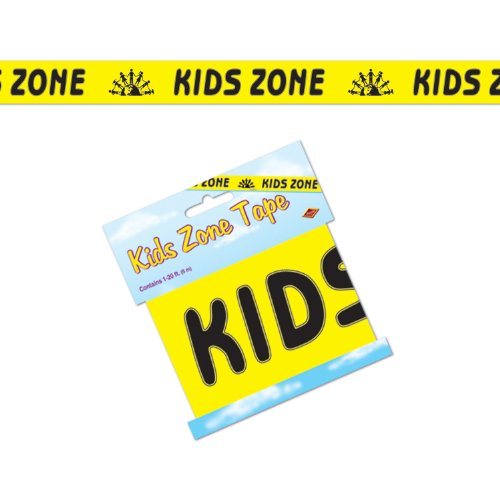 Kids Zone Party Tape Party Accessory (1 count) (1/Pkg)