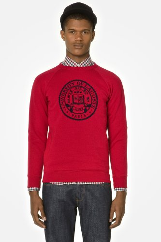 L!VE Crew Neck Sweatshirt With Graphic Crest