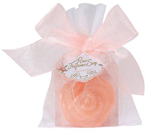 ノルコーポレーション 固形石鹸 ローズフレグランスソープ 50g チャーミングローズ OBーRNPー1ー1