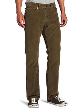 Levi's Mens 514 Straight Corduroy Pant,Worn Ivy, 28x30