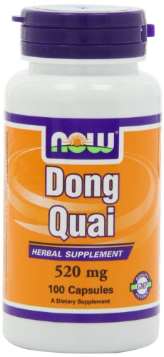 NOW Foods Dong Quai, 100 Capsules / 520mg (Pack