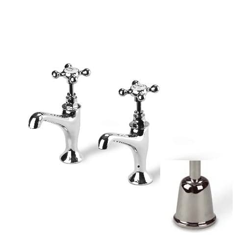 Barber Wilsons Faucets R106 Barber Wilsons Basin Amp Kitchen Taps Plugs Amp  Drains Polished Nickel