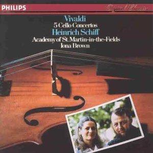 Vivaldi: 5 Cello Concertos