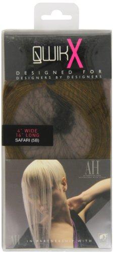 Qwik Percent X 100-Remi Indian Human Hair Extension lisce color 5B Safari 41 cm