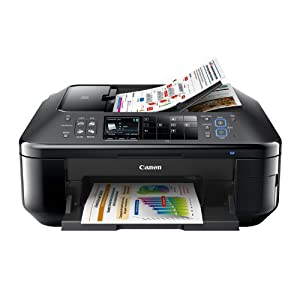 Canon Office Products PIXMA MX892 Wireless Color Photo Printer with Scanner, Copier and Fax