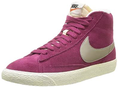 nike blazer mid suede vintage 518171 damen hohe sneakers. Black Bedroom Furniture Sets. Home Design Ideas
