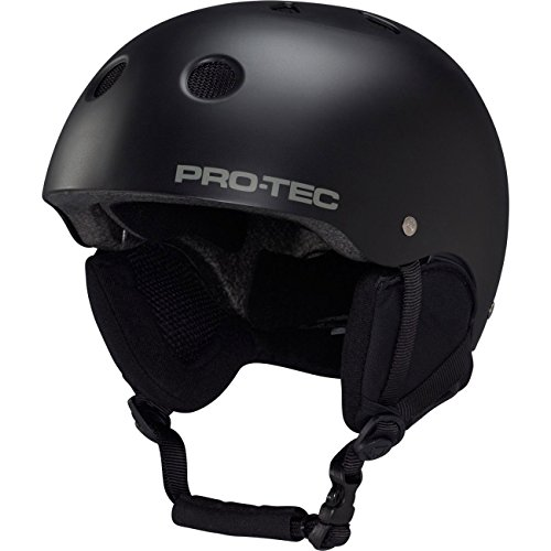 Protec Classic Snow AF Ski Helmet Black