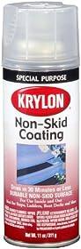 Krylon (3400-6 PK) Clear Non-Skid Coating - 11 oz. Aerosol, (Case of 6)