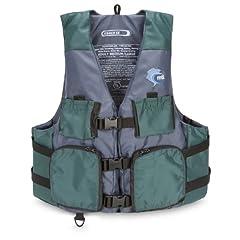 Buy MTI Adventurewear Fisher Kayak Fishing PFD Life Jacket by MTI Adventurewear
