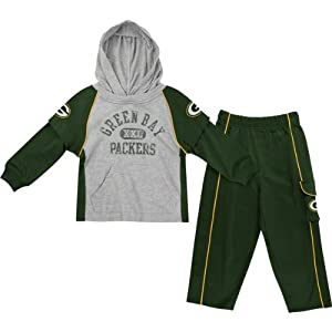 Green Bay Packers Toddler Faux Layered Jersey & Pant Set by NFL Brand