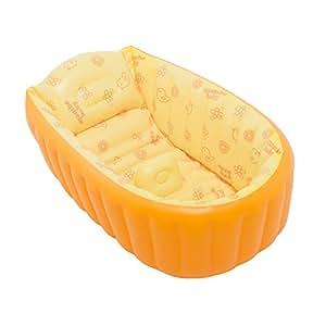 Crf gonfiabile vasca da bagno vasca da bagno giorno letto per bambini neonati orange - Vasca bagno bambini 5 anni ...