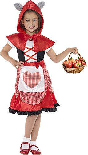 Miss Red Hood Kids Costume