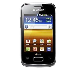 Samsung Galaxy Y Duos GT-S6102 Dual SIM, Nero [EU]
