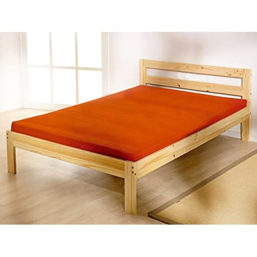 Double Pine bed 4FT Small Double Pine Bed frame - HEAVY DUTY extra wide solid base slats
