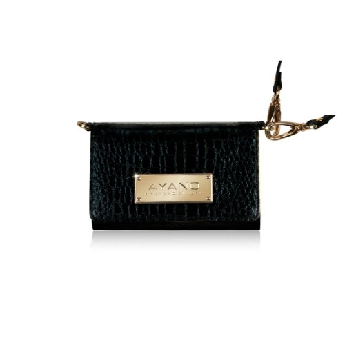 Special Sale Bling-My-Thing Wristlet/Purse for iPhone 5 (Black with Gold)