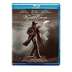 Wyatt Earp Blu-ray - Kevin Costner, Dennis Quaid, Gene Hackman