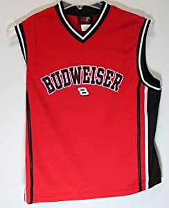 Dale Earnhardt Jr Bud Large Basketball Jersey Licesned Product by Motorsport Authentics