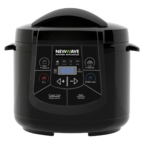 New Wave NW-800 6-in-1 Multi Cooker - Electric Pressure Cooker (New Wave Cooker compare prices)