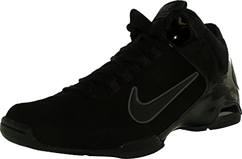 Nike Mens Air Visi Pro IV Nbk Black/Black/Anthracite Basketball Shoe (10) (Nike Air Visi Pro Iv compare prices)