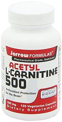 Jarrow Formulas Acetyl L-Carnitine 500mg, 240 Count Super Savings Pkg