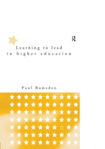 Learning to Lead in Higher Education (Communication and Society)