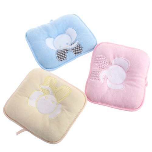 Xhan Cute Elephant Baby Infant Pillow Prevent Flat Head front-651093