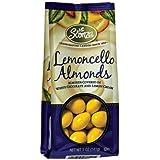 Sconza Lemoncello Chocolate & Lemon Cream Almonds (Pack Of 2) 5 Oz Bags