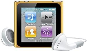 Apple iPod nano 8 GB, colore: Arancione