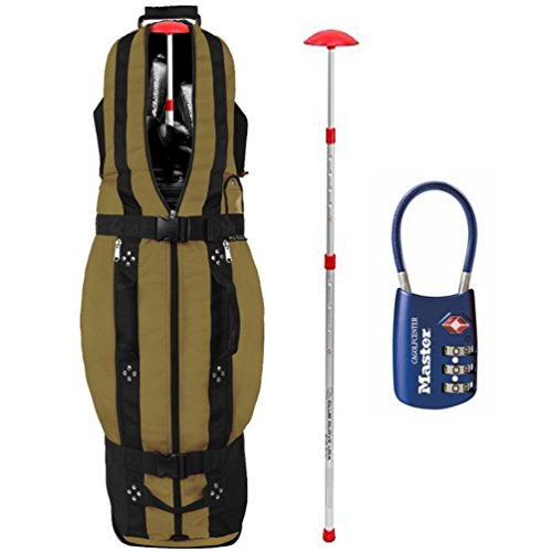 2016-club-glove-golf-travel-cover-bundle-last-bag-collegiate-khaki-upgraded-burst-proof-comes-with-s