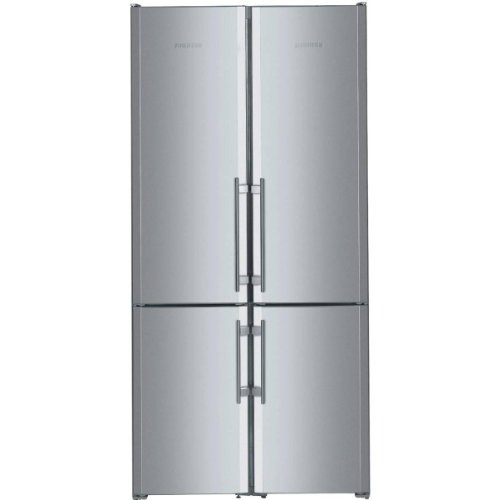 Refrigerator Freezer With Ice Maker Stainless Steel Liebherr Sbs 26s1 26 0 Cu Ft Capacity 4 Zone Side By