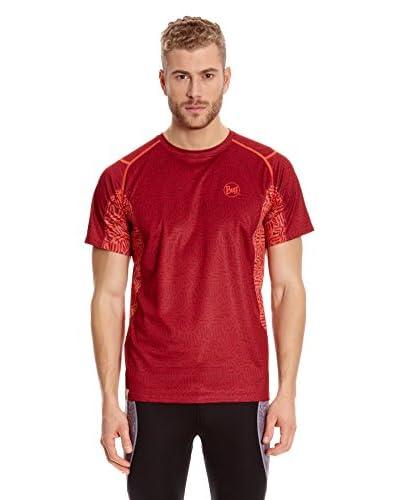 Buff T-Shirt Short Sleeve Kelby [Rosso]